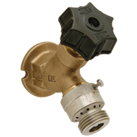 """Z1341XL-C12 - Wall Faucet with 1/2"""" x 3/4"""" Solder Connection, Rough-Bronze Finish"""